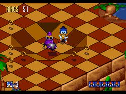 Sonic 3D Blast screen 3