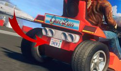 Sonic & All-Stars Racing Transformed - Shenmue