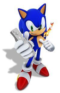 Sonic   artwork Wiimote