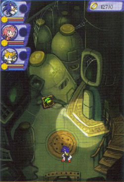 Sonic Chronicles : The Dark Brotherhood   scan 6