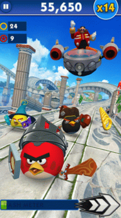 Sonic Dash Angry Birds
