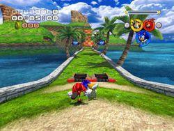 Sonic Heroes screen 2