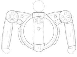 Sony - brevet poignees PS Move - 1