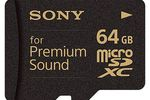 Sony carte microSD musique