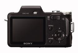 Sony dsc h3 b rear