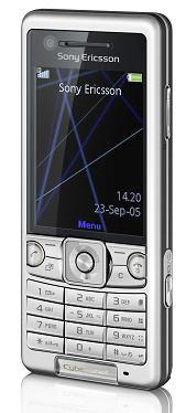 Sony Ericsson C510 avant silver