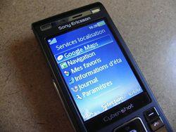 Sony Ericsson C905 10