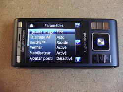 Sony Ericsson C905 16