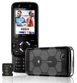 Sony Ericsson F305 FIFA 09 Virgin Mobile