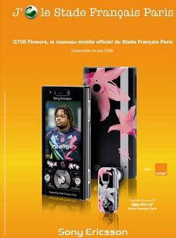 Sony-Ericsson G705 Flowers