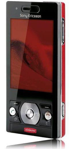 Sony Ericsson G705 Oxbow avant
