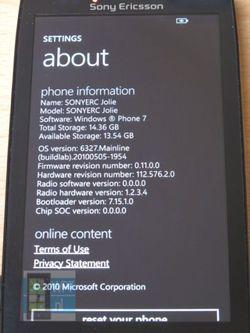 Sony Ericsson Jolie 3