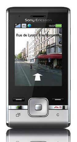 Sony Ericsson T715 face