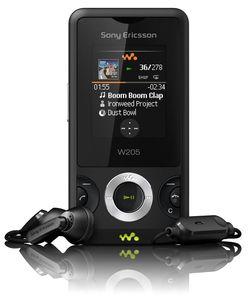 Sony Ericsson W205 1