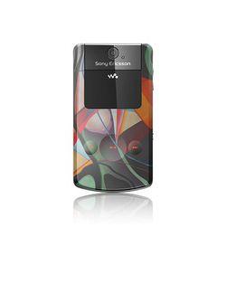 Sony Ericsson W508 Graffiti ferm