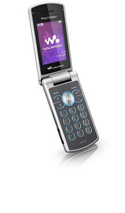 Sony Ericsson W508 ouvert