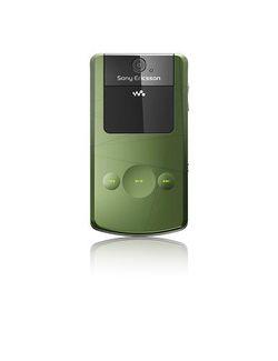 Sony Ericsson W508 Vert ferm