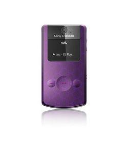Sony Ericsson W508 Violet ferm