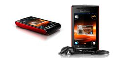 Sony Ericsson W8 rouge