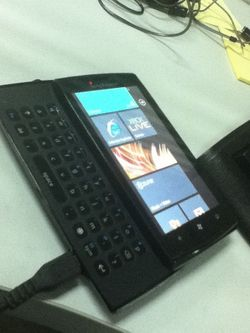 Sony Ericsson WP7