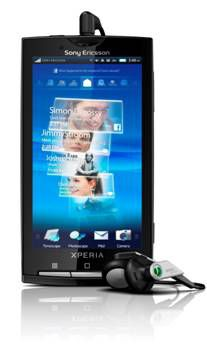 Sony Ericsson Xperia X10 Android