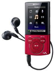 Sony NWZ-E44x rouge
