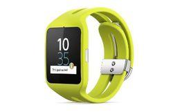 Sony Smartwatch 3 jaune