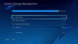 Sony - stockage