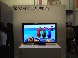 Sony - technologie Crystal LED