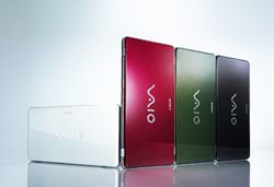 Sony VaioP finitions