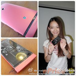 Sony Xperia P rose 2