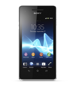 Sony xperia V front