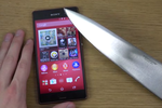 Sony Xperia Z3 couteau