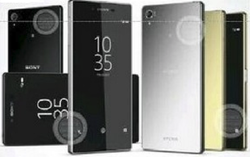 Sony Xperia Z5 Plus rendu