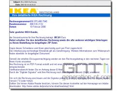 Sophos faux courriel avec facture ikea small