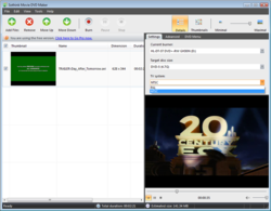 Sothink DVD Movie Maker screen