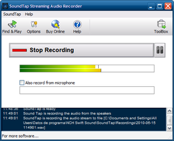 SoundTap screen1