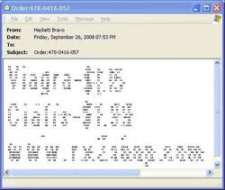 Spam ASCII