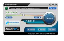 SpeederXP screen 1