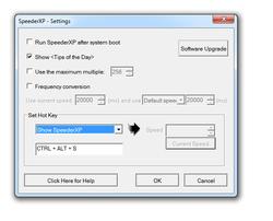 SpeederXP screen 2