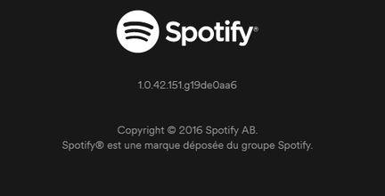 Spotify 1.0.42