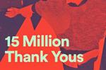 Spotify 15 millions