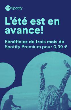Spotify offre 0.99