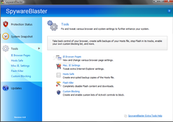 SpywareBlaster screen1