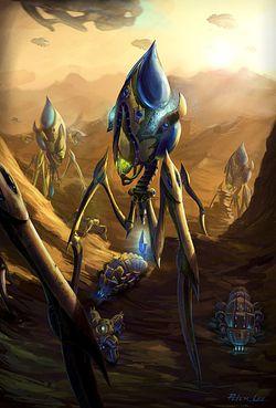 Starcraft 2 colossus 2