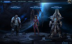 StarCraft 2 - nouvelle interface