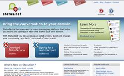 StatusNet screen1
