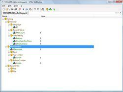STDU XML Editor screen2