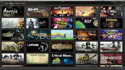Steam - bibliotheque jeux
