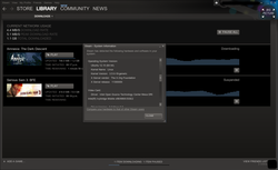 Steam Linux - interface